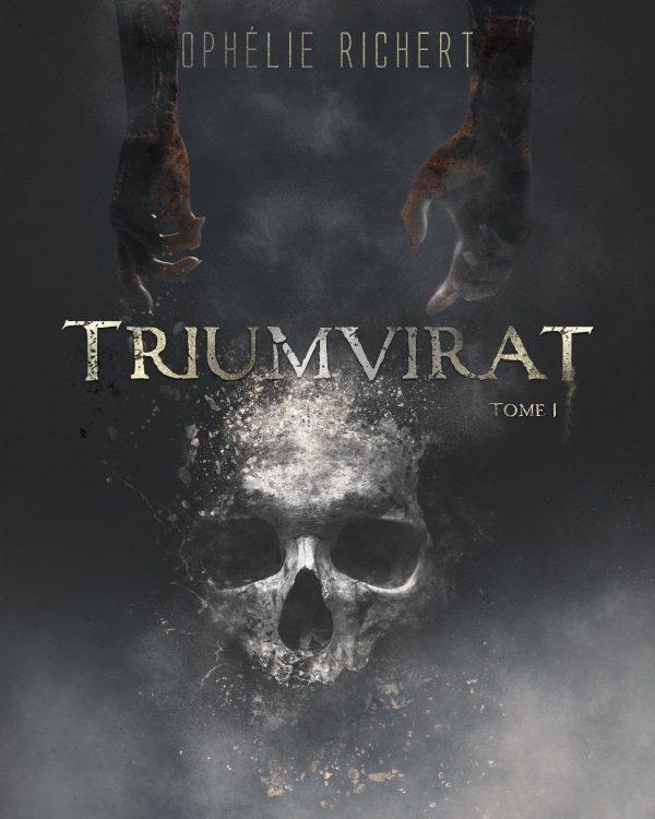 Couverture roman TRIUMVIRAT premier tome