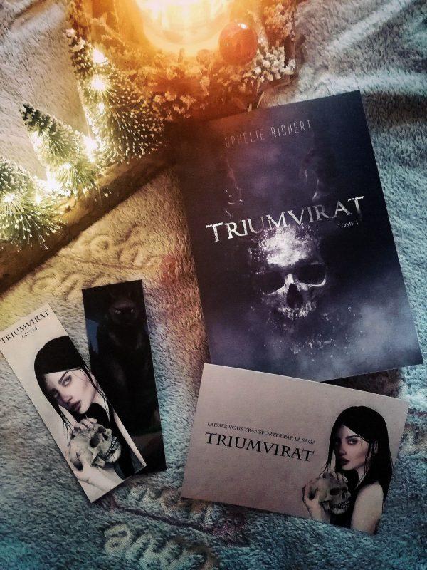 Roman TRIUMVIRAT et 3 goodies